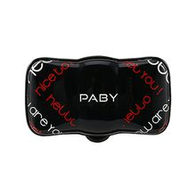 PABY PD1 GPS Pet Tracker & Activity Monitor with LED & Alarm Alert, Midnight Black
