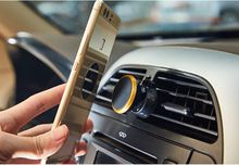 Magnetic Air Vent Mount For Mobile Devices 360 Degree Swing Car Outlet