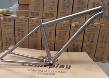 Supply gr9 titanium mountain bike frame 27.5''*19''