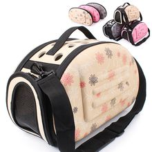 Dog Carrier Puppy Portable Travel Tote Pet bag EVA bags Shoulder Breathable Outdoor Backpack Folding Comfortable Zipper Pet House