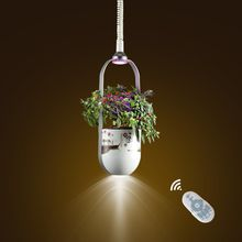 DIY planting pendant lamp chinese style luxury led droplight plant health light smart indoor grow plant light good luck for you