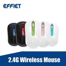 Factory price OEM Ergonomic 2.4G Optical Wireless Mouse silent click mute computer mice with nano receiver adjustable 1600 DPI