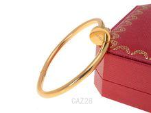 Titanium Steel Love Bracelets silver rose gold Bangles Women Men Screw Screwdriver Bracelet Couple Jewelry with original box set