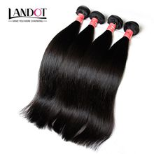 Brazilian Straight Virgin Hair 3PC Grade 7A Unprocessed Brazillian Remy Human Hair Weave Bundles Double Weft Nature Color Extensions Dyeable