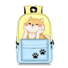 Promotion Sale Large Capacity Cheap Children Backpack Full Printed Fresh Cute Cat Kids Backpack Girls School Bags