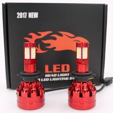 2pcs H7/11 540W 54000LM 4-Sides 32 LED Car Headlight Kit Conversion 6000K XENON White Car Bulb Pair Free Shipping