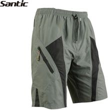 SANTIC sport downhill herbalife cycling shorts mtb outdoor bike shorts bicycle clothing gel shorts