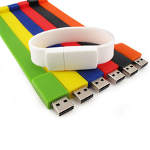 Event Giveaways Silicon Wristband usb Flash Drive, emboss logo Bracelet usb Pendrive, Promotional Corporate Gift USB Stick