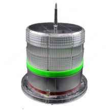 Self contained compact solar LED airfiled light are used for runways with LED lighting sources.