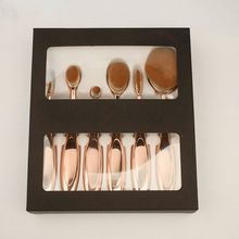 2017 AAA Newest Pro Oval Foundation Face Blush Powder Contour Gold Synthetic Hair Makeup Brushes Cosmetic Tools Health Beauty Accessories