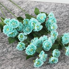wedding bouquet artificial Wedding arch decoration large artificial cheap silk flowers hawaiian flowersbridal bouquet greenerymur fleurs mar