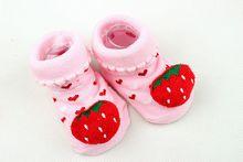 Wholesale baby custom 3D cartoon cute ankle socks, cattoon tube socks for girl&boy