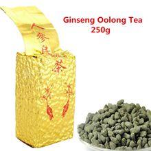 C-WL048 Promotion 250g Ginseng Oolong Tea Fresh Natural Beauty Tea Chinese High Quality Oolong tea