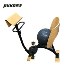 CF-EO5 Indoor Wooden Nature Style Yoga Ball Seat Fitness Upright Exercise Bike