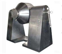 Double cone vacuum drying mixer