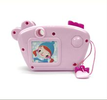 Hot selling kids mini plastic toy camera with light and music