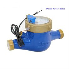 Reed Switch Pulse Output Flow Water Meter