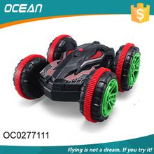 Rechargeable 2.4Ghz speed flip stunt kid toy remote controlled car for sale