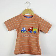 Kids Children Boy short Sleeve T Shirt Tops Apparel Clothing T-shirt Spring new arrival 100% cotton 100%Cotton Baby Shirt-Summer short Slee