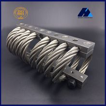 Machine Tool Accessories Armored Vehicles Console Noise Attenuation Control JGX-0958 Series Stainless Steel Wire Rope Isolator
