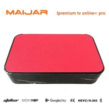 Strong 4K Iptv Box Ipremium Tv Online+ Pro Android Tv Box Mickyhop Double System IPTV Set Top Box Multi IPTV channels Googleplay