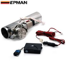 EPMAN - 2.0in 2.25in 2.5in 2.75in 3.0in Electric I-Pipe Exhaust Downpipe Cutout E-Cut Out Valve System Kit+Remonte in stock EP-CUT01G