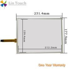 NEW AMT 9537 AMT-9537 AMT9537 4Pin 10.4Inch HMI PLC touch screen panel membrane touchscreen Used to repair touchscreen