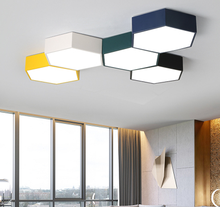Simple modern macaron living room lamp atmosphere household led suction lamp