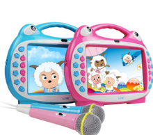 8 inch kid-learning children touch screen karaoke 0 to 6 years old at the age of 3