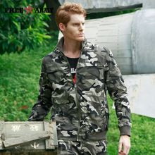 Men's Pilot Jackets New Camouflage Jacket Coat Men Brand Clothing Fashion Slim Outerwear Male Top Quality Stretch Military Coat MS-6610B/C