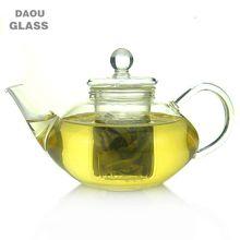 hand made heat resistant borosilicate Clear Pyrex glass teapot ,glass teaware, Coffee Tea Pot Juice Kettle,300ml 600ml 1000ml