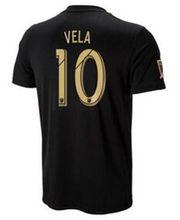 US size Camisetas de futbol 2018 2019 Los Angeles Fc usa MLS Soccer jersey 18 19 Maillot LAFC Carlos Alberto Vela C. Vela Garrido Shirts