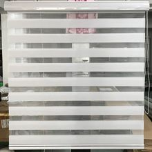 Zebra Blinds Double Layer Roller Blinds Translucent Curtain Custom Made Shade for Living Room Bedroom GY01-016