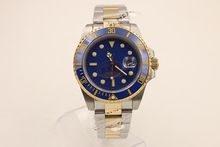 43mm black dial Ceramic Bezel sapphire glass automatic mens watch rl22
