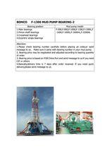 BEARING (NU 3044X3M/C3)FOR BOMCO F-1300 MUD PUMP