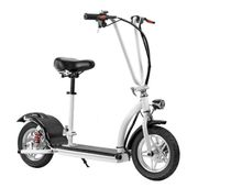 12 inch folable mini harley citycoco electric scooter