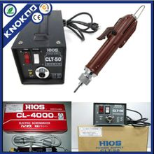 Hios Screwdriver CL-4000 with CLT-50 power supply, high quality electronic screwdriver (H4 bit), 1.0--5.5 kfg.cm, hotsales