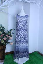 100%Silk dress lady