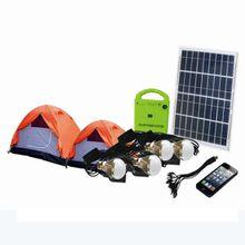 DC output 12V/3A USB port 5V/500MA LED bulb 3W solar power system