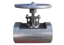 Titanium straight-through type globe valve