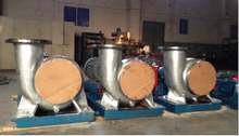 HW type horizontal mixed flow pump