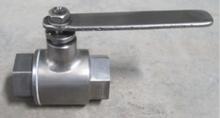 Inside screw titanium ball valve