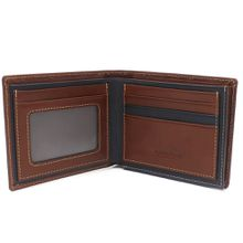 Custom pu leather money clip, cheap money clip wallet
