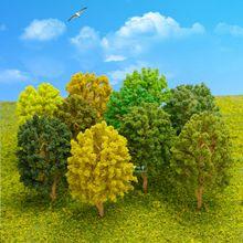 Realistic Model railroads/railway/train trees Z N HO OO O Scale height Range from 40mm-140mm