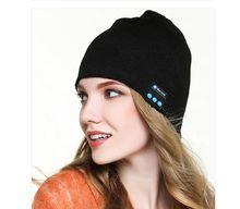 Fashion Beanie Hat Cap Wireless Bluetooth Earphone Smart Headset headphone Speaker Mic Winter Outdoor Sport Stereo Music Hat