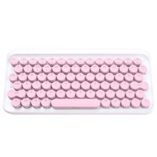 T-dot bluetooth mechanical keyboard retro phone ipad apple MAC limited bear bear