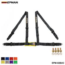 "EPMAN- Seat Belts Style Competition 4 Point Snap-In 2"" Seat Belt Racing Harness safety belt seat harness EPM-02BUC"