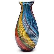 Elegant Decorative Glass Vase With Beauthiful Color Yellow Glass Vases Flower Vase For Wedding