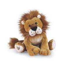 Little lion plush toy