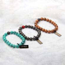 Natural beads bracelets Turquoise natural stone tag Bracelet diy jewelry for unisex free shipping